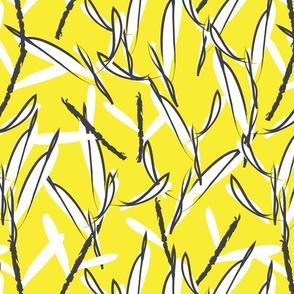 Botanical leaf print20-01