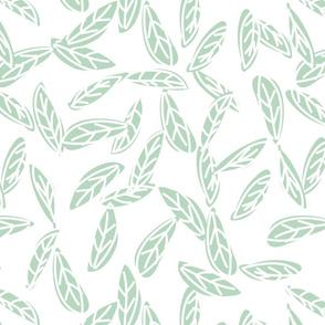 Botanical leaf print40-01