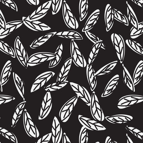 Botanical leaf print43-01