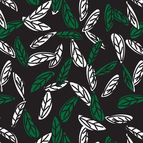 Botanical leaf print48-01