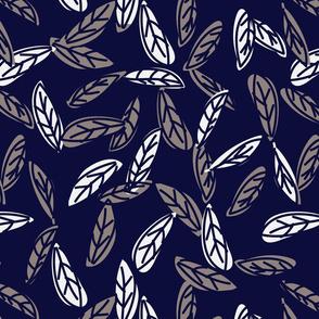 Botanical leaf print46-01