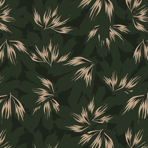 Botanical leaf print38-01