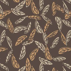Botanical leaf print49-01