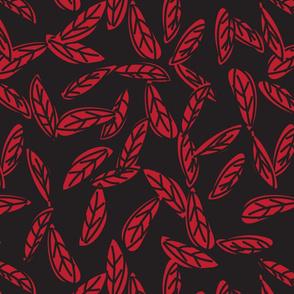 Botanical leaf print44-01