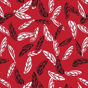 Botanical leaf print47-01