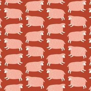 Counting Sheep (sienna)