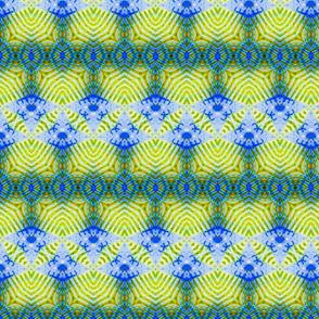 Blue Shark Tooth Zigzag