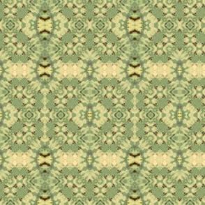 Green Woven Crosses