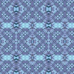 Blue & Lavender Woven Crosses