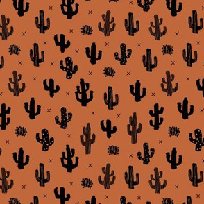 Raw western indian summer cactus garden soft nursery rust copper brown