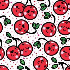 aloha cherry with dots