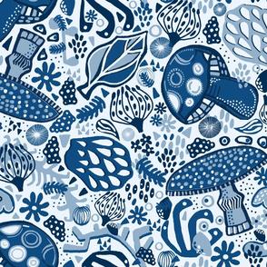 Blue Forest Flora