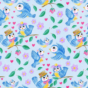 Cutesy Birds, Large