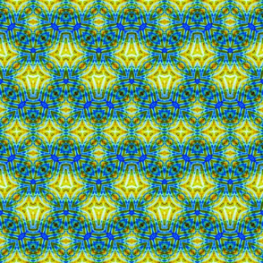 Blue Hootie Zigzag