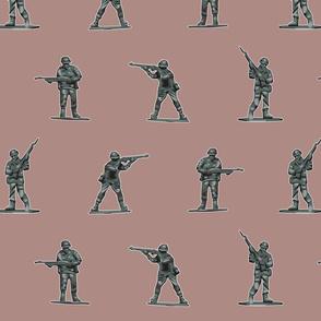 TIN SOLDIERS powder pink