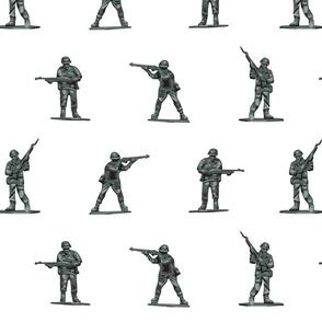TIN SOLDIERS white