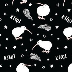 Kiwi Bird Black
