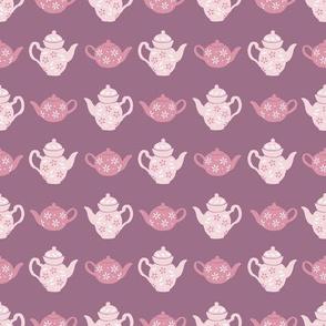 Pink Teapots