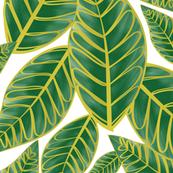 Palm Paradise V2 - white ground