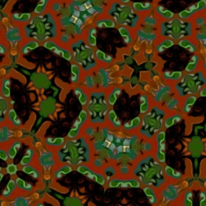Jungle Dappled Ground - large