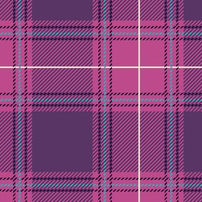 Purple Pink Plaid V01