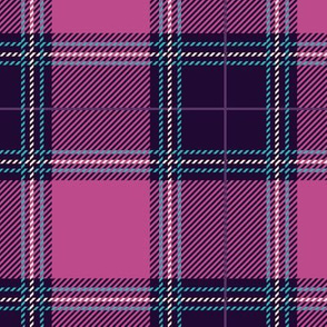 Shade of Purple Plaid V06