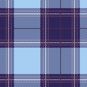 Blue Purple Plaid V01
