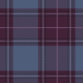 Shade of Purple Plaid V02
