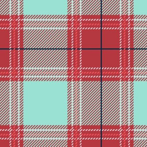 Red Cyan Plaid V01