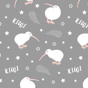Kiwi Bird Grey