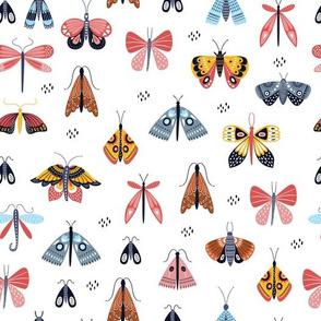 scandinavian style butterflies