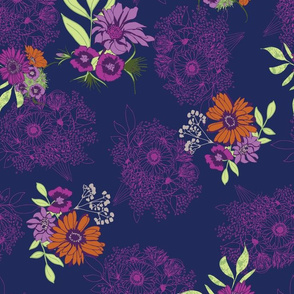 floral with linear bouquets in blue and pink-01