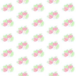 watercolour strawberry