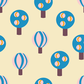 Candy Trees Retro