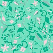 Flower Power Mint l Green