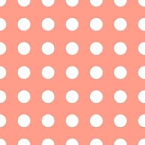 Big Dot on Peachy Pink|Bloom Bloom Pow|Renee Davis