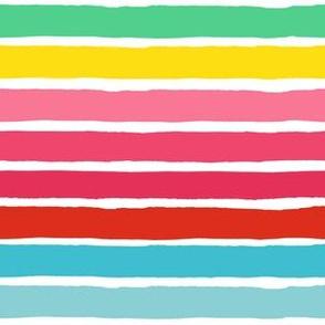 "6"" Rainbow Stripes"