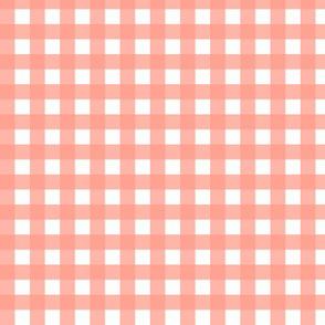 Peachy Pink Gingham|Bloom Bloom Pow|Renee Davis