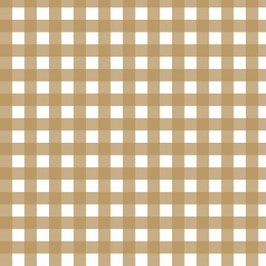 Brown and White Gingham|Graced|Renee Davis