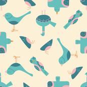 The Birds  Mid-Century