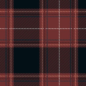 Old Rose Dark Plaid V01