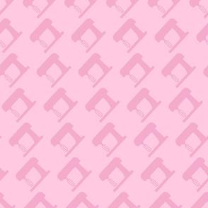 kitchen mixer tone on tone pink