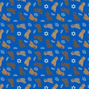 Tiny Cairn Terriers - Hanukkah