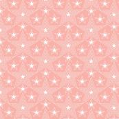 Shining Star* (Mona) || stars geometric superstar disco 70s 80s pop art living coral pastel