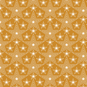 Shining Star* (Gold Seal) || stars geometric superstar disco 70s 80s pop art mustard