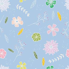 sweet stems-blue