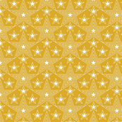 Shining Star* (Gold Marilyn) || stars geometric superstar disco 70s 80s pop art mustard