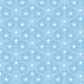 Shining Star* (Sailor) || stars geometric superstar disco 70s 80s pop art pastel blue