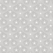 Shining Star* (Silkscreen) || stars geometric superstar disco 70s 80s pop art pastel gray grey