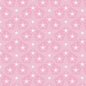 Shining Star* (Pink Cow) || stars geometric superstar disco 70s 80s pop art pastel